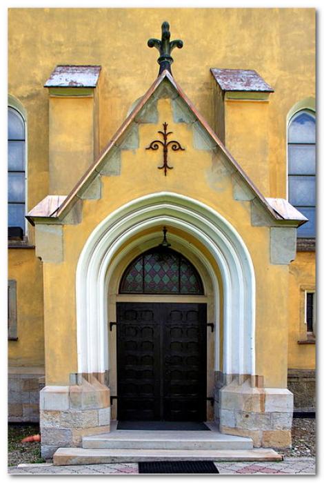 gotycki portal
